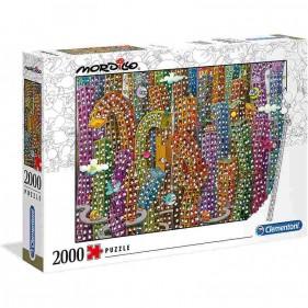 Mordillo Puzzle 2000 Pezzi