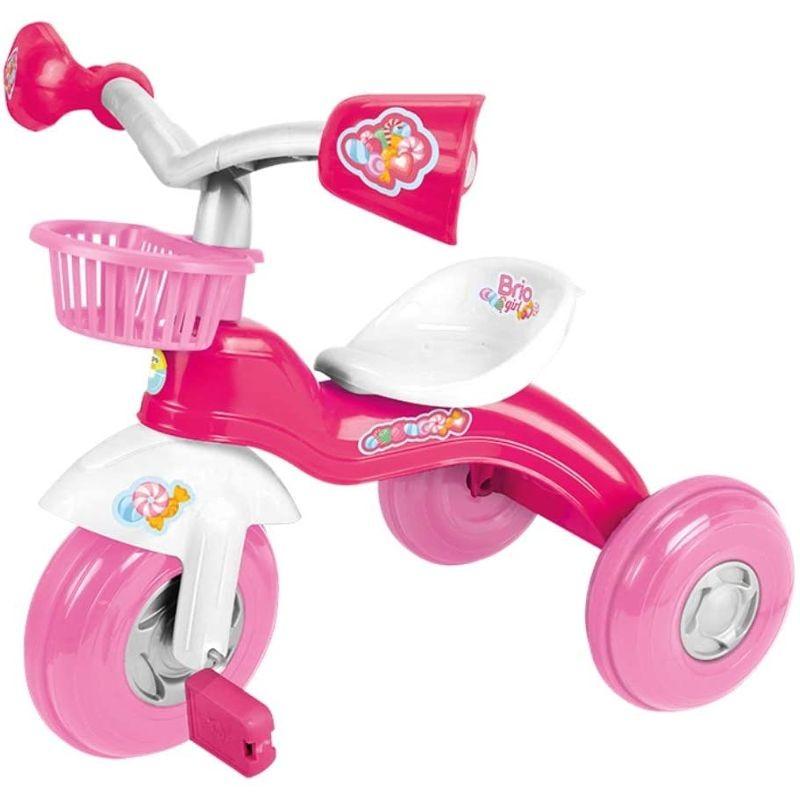 Triciclo Brio rosa
