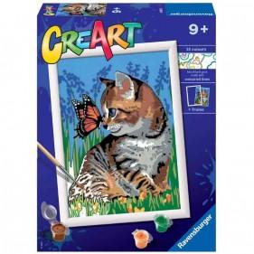 CreArt - Gattino e Farfalla