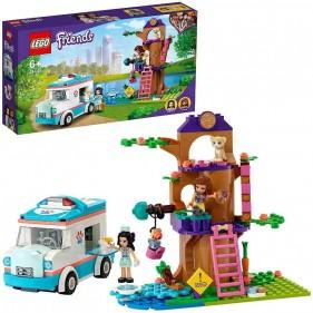 LEGO Friends 41445 L'ambulanza della clinica veterinaria