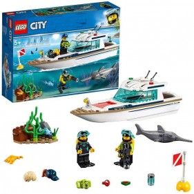 LEGO City 60221 Yacht per immersioni