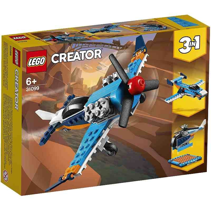LEGO Creator 31099 Aereo a elica