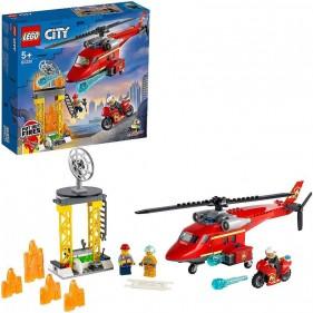 LEGO City 60281 Elicottero antincendio