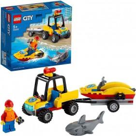 LEGO City 60286 ATV di soccorso balneare