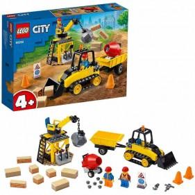 LEGO City 60252 Bulldozer da cantiere