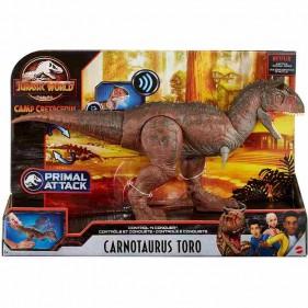 Jurassic World - Dinosauro Carnotaurus Toro
