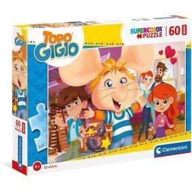 Topo Gigio Puzzle Maxi 60 Pezzi