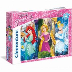 Principesse Disney Puzzle Maxi 60 Pezzi