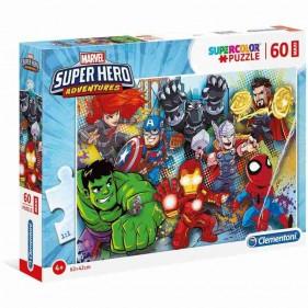 Marvel Super Hero Avengers Puzzle Maxi 60 Pezzi