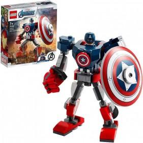 LEGO Marvel Avengers 76168 Armatura mech di Capitan America