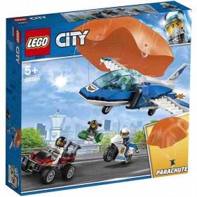 LEGO City 60208 Arresto con il paracadute della Polizia aerea
