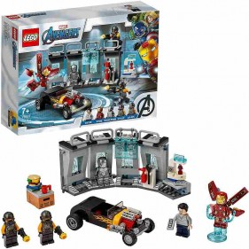 LEGO Marvel Avengers 76167 Armeria di Iron Man