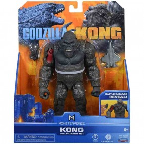 Monsterverse Godzilla vs Kong - Kong w/Fighter Jet