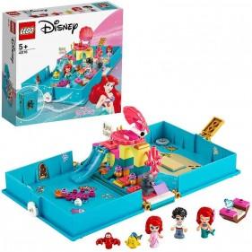 LEGO Disney 43176 Il libro delle fiabe di Ariel