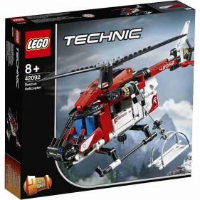 LEGO Technic 42092 Elicottero di salvataggio
