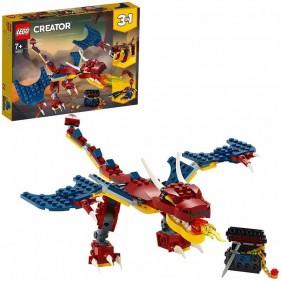LEGO Creator 31102 Drago del fuoco