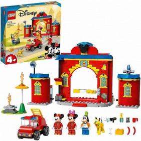 LEGO Disney 10776 Autopompa e caserma di Topolino e i suoi amici