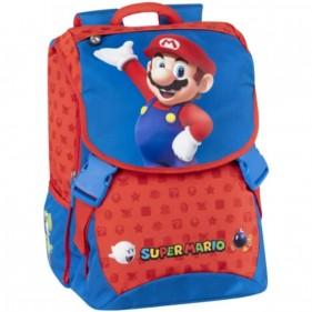 Zaino scuola estensibile Super Mario 2021/2022