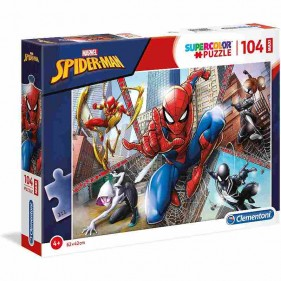 Spider-Man puzzle 104 pezzi