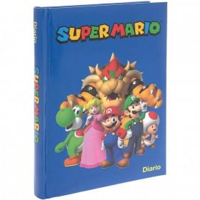 Super Mario - Diario 2021/22 12 Mesi - Blu