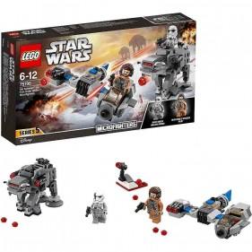 LEGO Star Wars 75195 Ski Speeder contro Microfighter First Order Walker