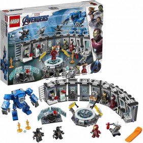 LEGO Marvel Avengers 76125 Sala delle Armature di Iron Man