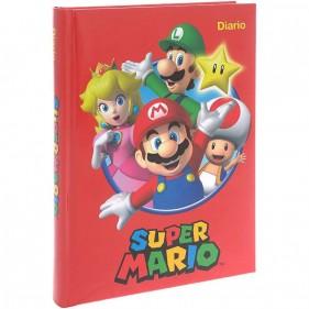 Super Mario - Diario 2021/22 12 Mesi - Rosso