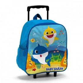 Zaino Trolley Asilo Baby Shark