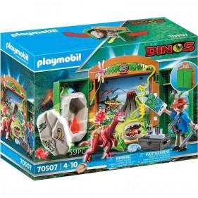 PLAYMOBIL Dinos 70507 - Archeologo con Uovo di Dinosauro