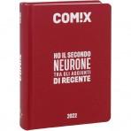 Comix - Diario 2021/2022 16 Mesi - Deep Red