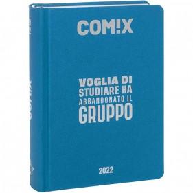 Comix - Diario 2021/2022 16 Mesi - Cyan Fluo
