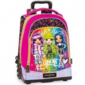 Zaino trolley scuola Rainbow High