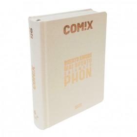 Comix Diario 2021/2022 16 Mesi - Gold Glitter scritta Oro - Mini