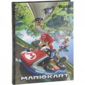 Mario Kart - Diario 2021/2022 12 Mesi - Nero