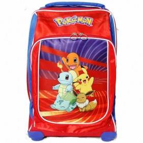 Zaino Trolley Scuola Pokemon