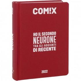 Comix - Diario 2021/2022 16 Mesi - Deep Red - Mignon