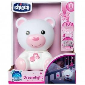 Chicco Dreamlight Orsetto Luce Notturna Rosa