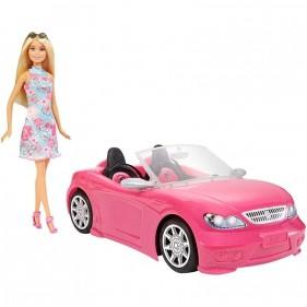 Barbie con Auto Cabrio