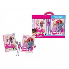 Barbie Set Diari e Penne