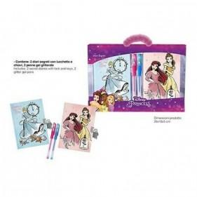 Principesse Disney Set diari e penne