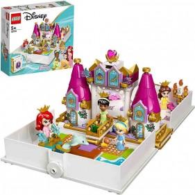 LEGO Disney 43193 L'avventura fiabesca di Ariel, Belle, Cenerentola e Tiana