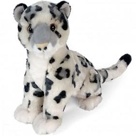 Peluche Leopardo delle Nevi 30 cm