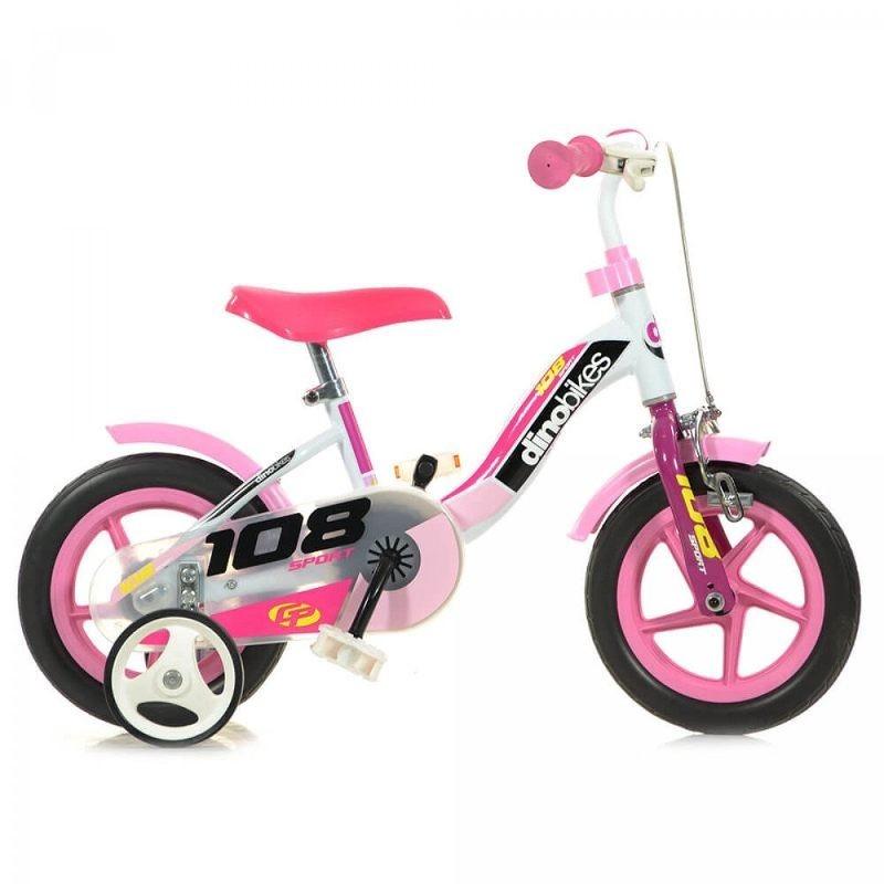 """Bicicletta Bambina 10"""" con Freno Anteriore"""