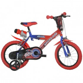 Bicicletta Spiderman 14""