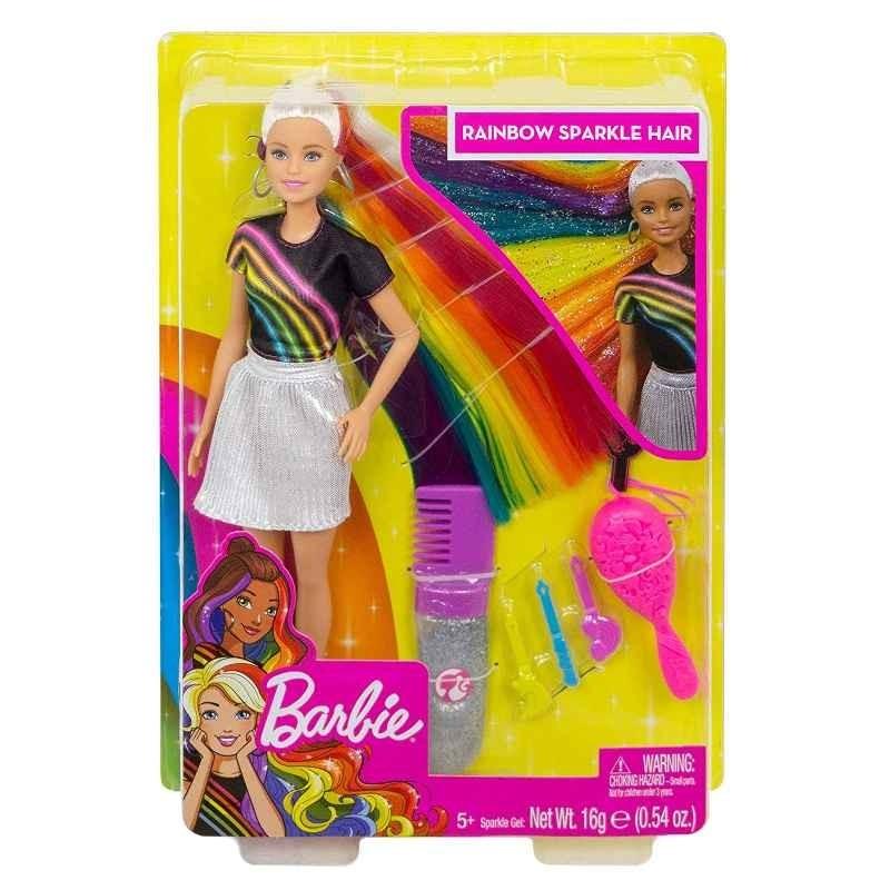 Barbie Capelli Arcobaleno