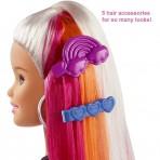 accessori Barbie Capelli Arcobaleno