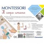 retro scatola Montessori - Il Corpo Umano