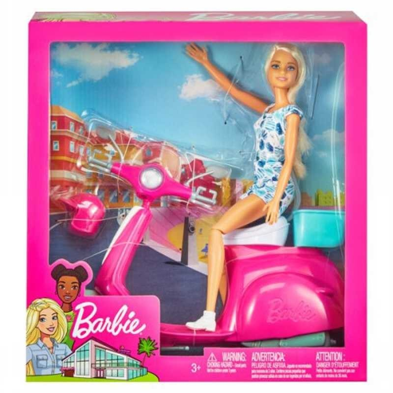 Barbie con Scooter