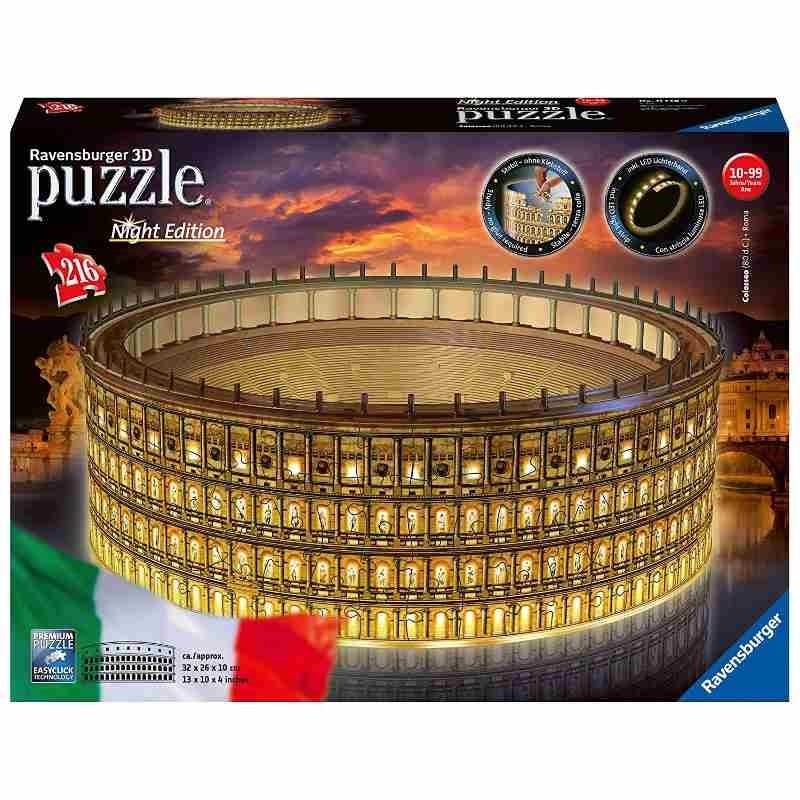 Colosseo Night Edition 3D Puzzle