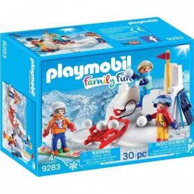 Playmobil 9283 Battaglia a Palle di Neve